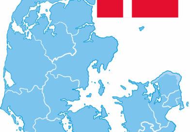Dänische Südsee Übersichtskarte
